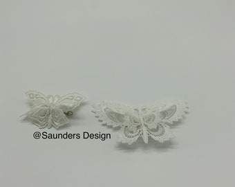 A Pair Of Butterfly Brooch