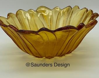 Marigold Vintage  Sunflower Bowl