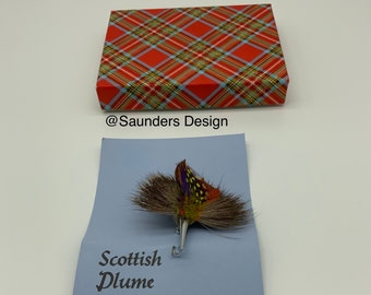 Scottish Plume Brooch