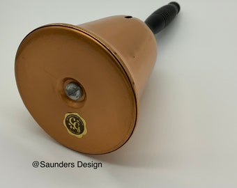 Copper Craft Guild Bell Shaped Coin Bank