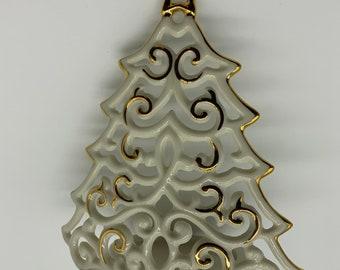Lenox Bright Christmas Tree Tea light holder