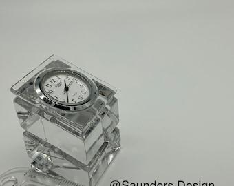 Crystal Gorham Quartz Clock