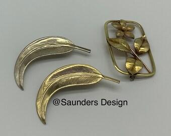 Brooch Leaf Pins