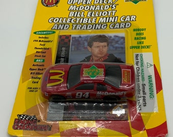Upper Deck McDonalds Bill Elliot Diecast car