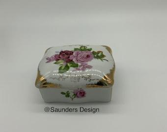 RosesTrinket Porcelain box