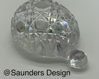 Waterford Turtle Crystal Paperweight