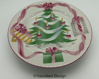 Sango home Christmas bread butter/desert plate