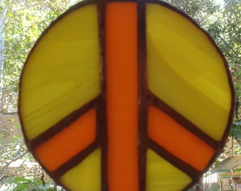 Peace Stained Glass