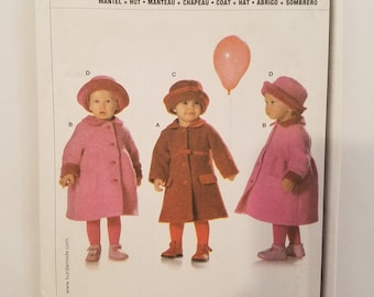 "BURDA /""START 3/"" GIRL/'S DRESS SEWING PATTERN # 9799; SIZES 2 THRU 6"