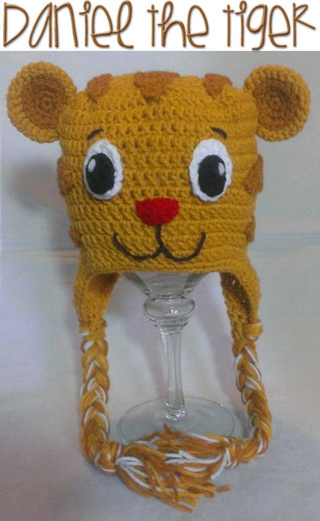 Daniel el tigre inspiración Crochet patrón instantánea   Etsy