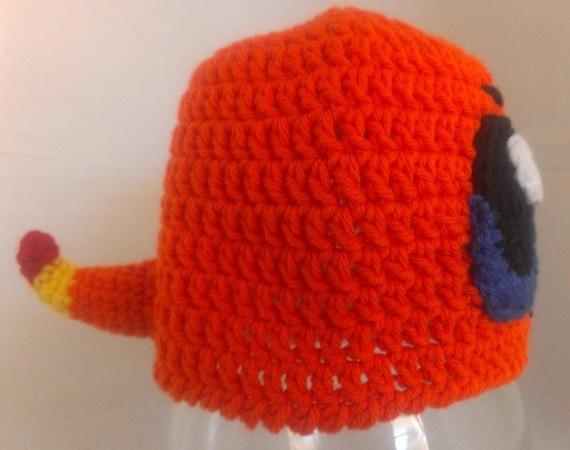 Glumanda Pokemon inspiriert häkeln Beanie Earflap Mütze Muster | Etsy