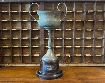 Large Vintage Trophy Cup