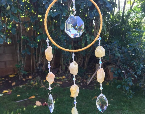 Custom Swarovski Crystal Sun Catcher