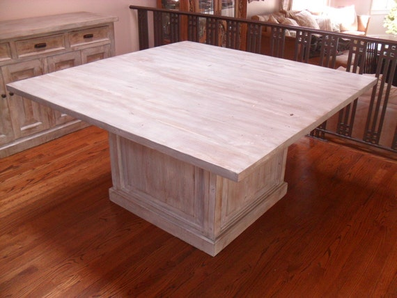 Custom Made Dining Table From Reclaimed Wood Made In The USA Etsy - Custom made reclaimed wood dining table