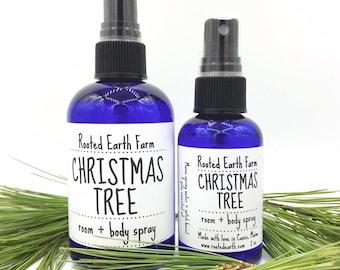 Christmas Tree Spray, Pine Spray, Holiday Gift, Christmas Gift, Evergreen Spray, Xmas Tree Scent, Air Freshener, Room Spray, Body Spray