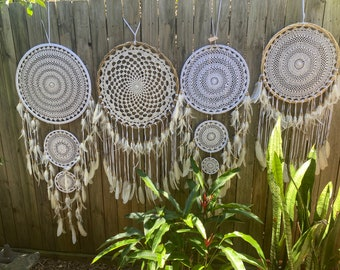 4 xL Dreamcatchers.