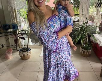 Ibiza gypsy dress.
