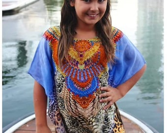 Tiger island childrens kaftan size 4-8
