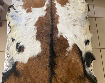Goat skin.