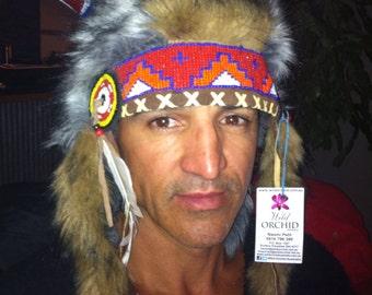 Tribal horn hat