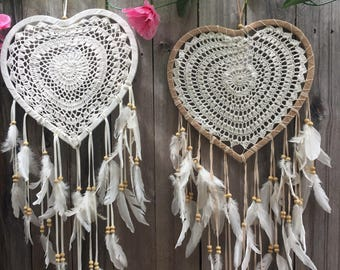 Heartshape dreamcatchers