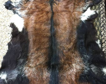 Genuine goat skins