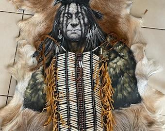 Bone tribe warrior chest piece