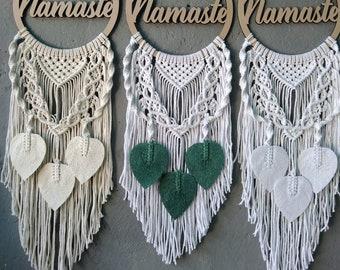 Namaste mandala wall hangers