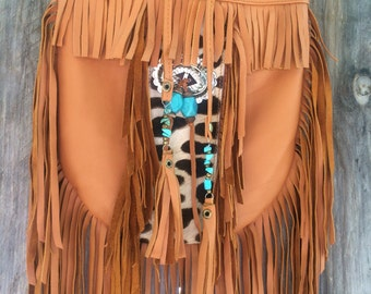 Tribal fringe bag