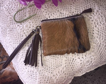 Goatskin purse
