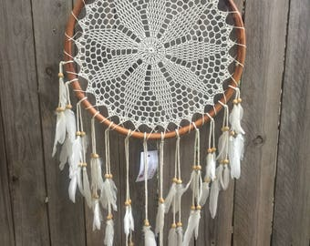 Handcrochet dreamcatcher