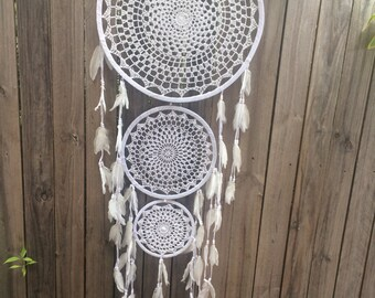 Extra large triple dream catcher