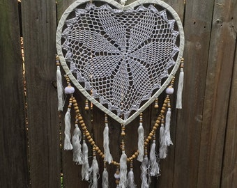 Love heart dreamcatcher