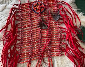 Bone tribe chest plates.
