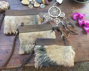 Goat fur clutch x 3 wholesale deal
