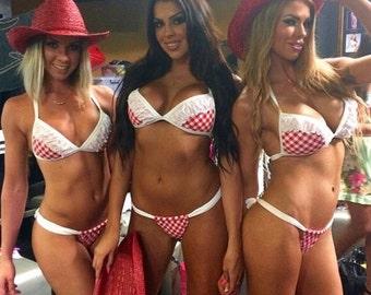 Rodeo queen bikini