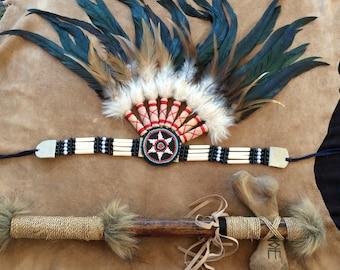 Amazon feather headband