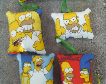 The Simpsons Pillow Ornaments Set of 5