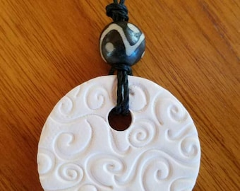 Essential Oils Clay Diffuser Necklace