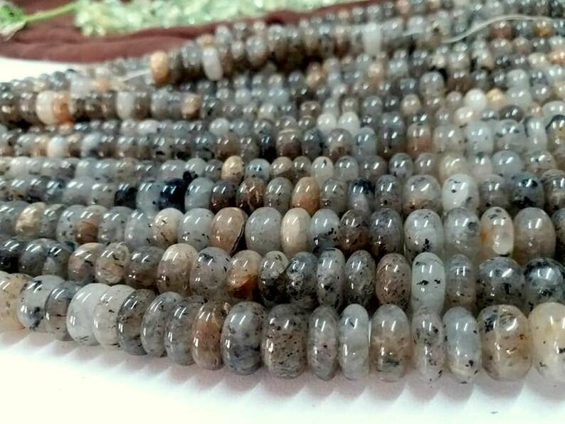Strawberry Quartz Beads,Strawberry Quartz Natural,Strawberry Quartz Roundel Bead,size 8mm,10 mm,Jewellery making gemstone beads,Quartz bead