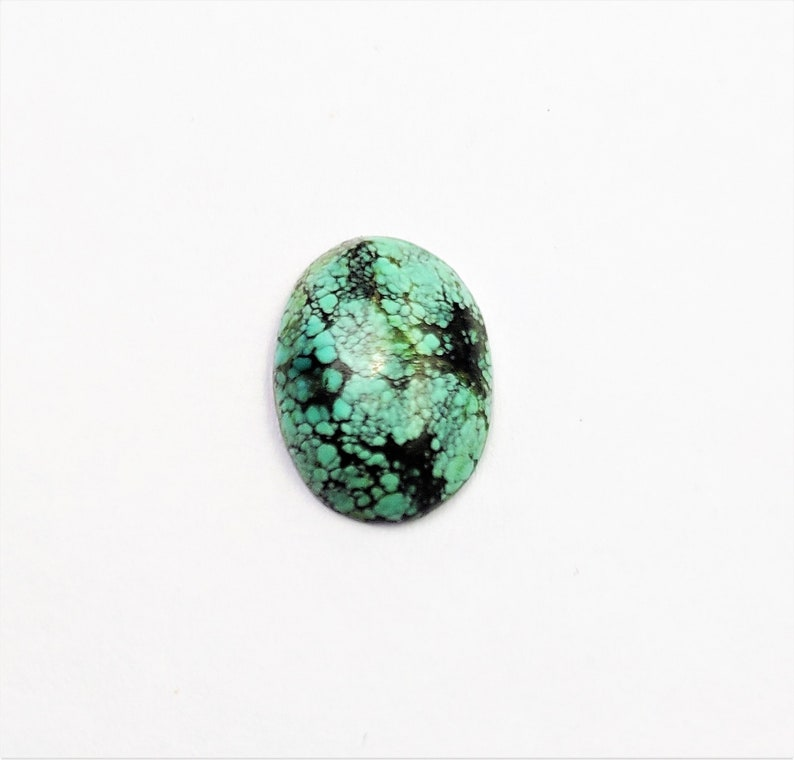 Top Quality Natural Tibetan Turquoise Gemstone Round Shape Cabochon 12MM Round Shape Smooth Cabochon Weight 12.15 Caret December Birthstone