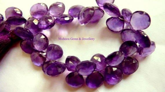 Natural Amethyst Pear Shape 5mm x 2.5mm Gem Gemstone