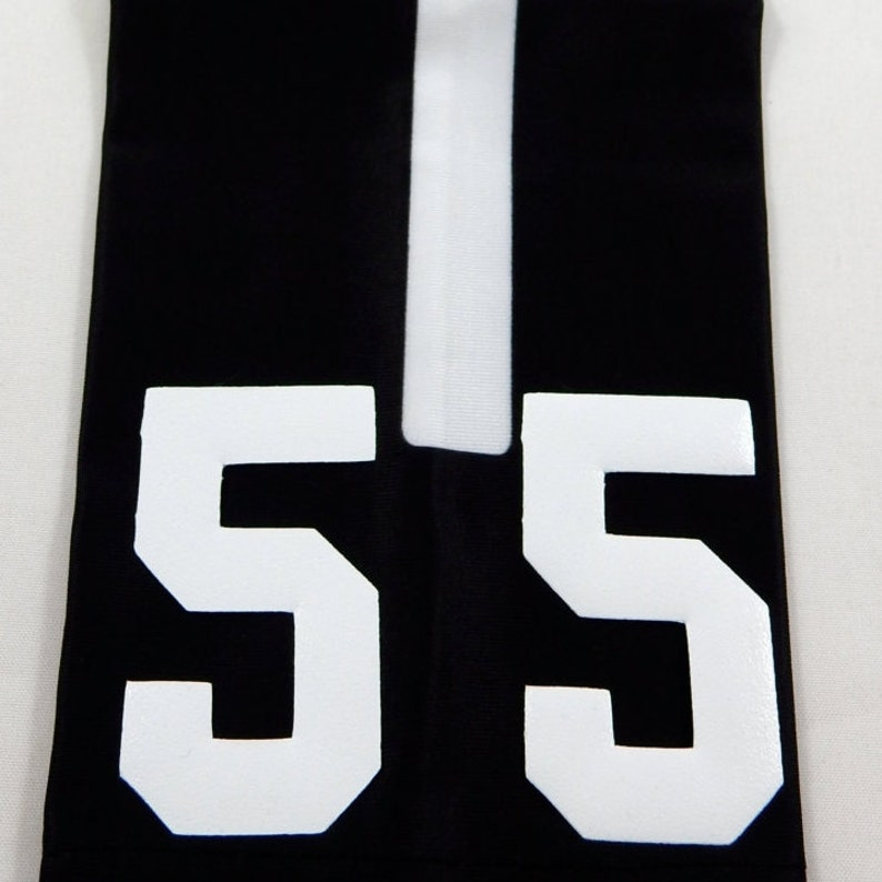99ccf500ee7e6 Custom Number (PICK YOUR NUMBER) Woodland Camo Black White Elite Sports Arm  Sleeve Digital Basketball Football Baseball Soccer Softball
