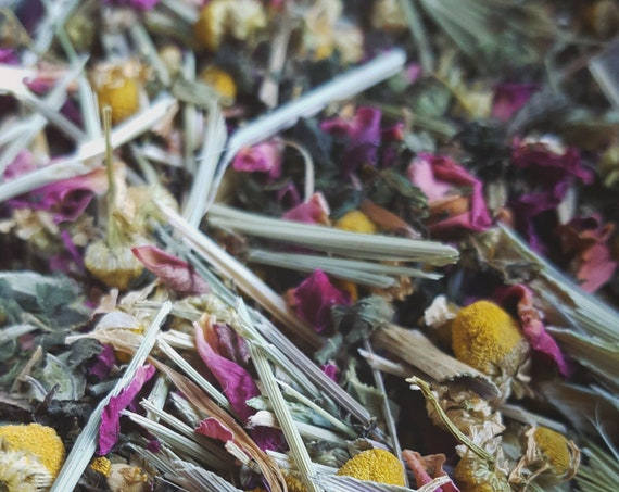 Face Steam & Bath Tea - Herbal Loose Leaf Blend