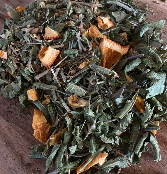Sweet Orange Ginger- Herbal Tea