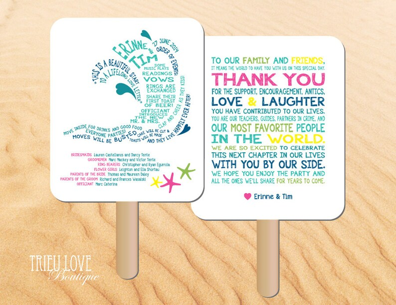Personalized Wave  Beach  Seaside  Surfing Wedding Ceremony image 0