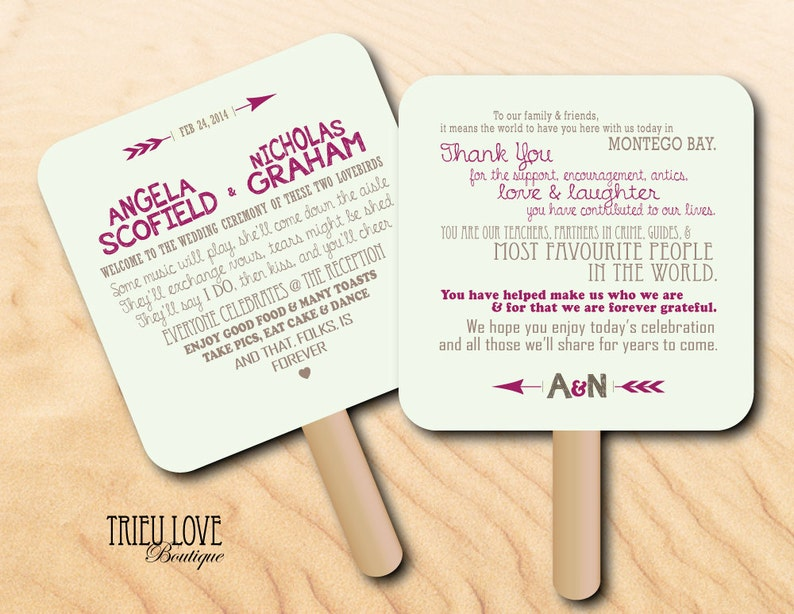 Personalized Lovestruck Sweetheart  Arrows Wedding Ceremony image 0