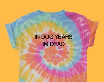 8a0b176b10d1c Hippie Liberal pastel tie dye Shirt | Etsy