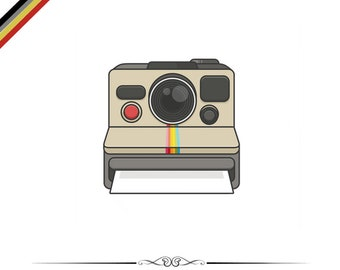 Polaroid Camera Pin