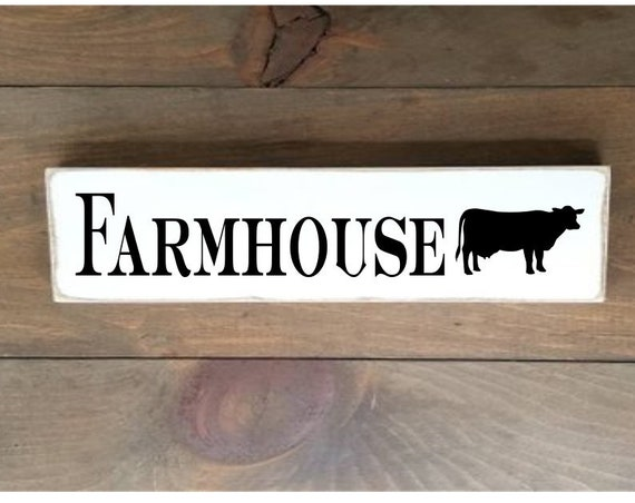 Farmhouse Wooden Sign, Farmhouse Décor, Cow Sign, Home Décor, Rustic, Pantry sign, Primitives, Primitive Wood Sign, Pantry Wood Sign